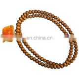 wood beads necklace mala/tibetan prayer beads/sandalwood 108 beads Japmala/rosary/8mm Tibetan Buddhist 108 wood Prayer Bead Mala