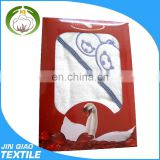 100% cotton and yarn dyed hooded baby towel made in China