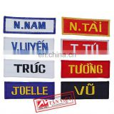 EMBROIDERY NAME BADGES