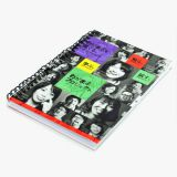 Sublimation Fabric Notebook With Eyelet-Big