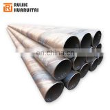 SSAW underground water welded spiral standard steel tube