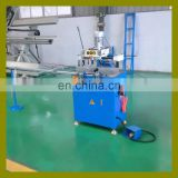 China new automatic UPVC window machinery for triple hole drilling and copy routing milling