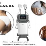 110V 220V available Electric Body Emsculpt Lazy Fat Burning Ems Body Slimming Machine for Gender