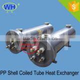 swimming pool heat exchanger|PVC shell and titanium heat exchanger|titanium tube heat exchanger with PVC shell