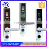 Smart home system mechanical key digital lock fingerprint door lock with usb interface HSY-L5000