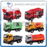 Mini Qute 1:55 kid Die Cast pull back alloy engineering city truck vehicle diecast model car educational toy NO.MQ 503
