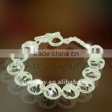 best price 925 sterling silver bracelet jewelry for lady paypal acceptable