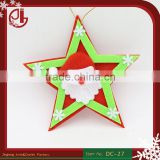 Felt Applique Non-woven Fabric Five-star Santa Claus Christmas Tree Decoration Accesories