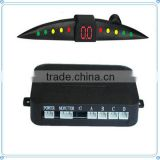 Led display parking aid system sensor for 12 Volt cars 4 or lot sensor car parking sensor