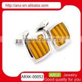 novelty jewelry boxes men's ties yellow designed yellow cufflinks