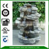 2015 new garden ornaments nature stone garden water fountain                                                                         Quality Choice