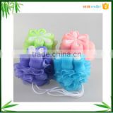 Promotional shower puff bath ball for body cleaning