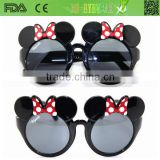New design fashion cartoon sunglasses for kids CE/FDA ,china brand sunglass