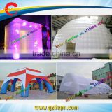 Spider Tent Inflatable arch tent LED cube tent and air dome tent for promotion event