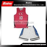 red and white basketball jerseys/wholesale basketball jerseys/team usa basketball jerseys