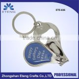 plastic nail clipper with cheap price for kids/electric nail clipper for gift