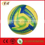 Soft High foaming PVC football / High quality luxurious soccer ball