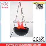 Light soft silk with a combination of flame lighthome decorative table flame lamp made in china
