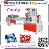 Automatic pillow seal japanese chinese turkish sweet candy bar Packing Wrapping Machine with Servo motor