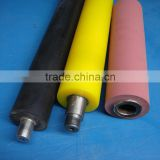 Factory wholesale machined Polyurethane 80-85A PU machined coat rubber plastic teflon coated conveyor rollers