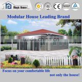 Hot Sale!!2016 new design prefab house, fire proof fiber cement board house with low cost