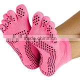 Yoga Socks Full Toe with Grips S/M