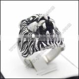 China factory stainless steel lion head ring                                                                                                         Supplier's Choice
