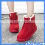 Factory outlets new winter snow boots thick rubber casual women boots warm villus women's boots MHo-139