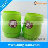 Colorful silicone bottle sleeve with customized logo