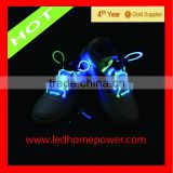 led lights for shoes,waterproof LED washable shoelace flashing Feature and Shoelaces led lights for shoes Type led lights for s