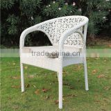 2016 New Cheap Outdoor Resin Wicker coffee shop rattan ratten arm chair                                                                         Quality Choice