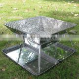 outdoor stainless steel foldable picnic barbecue oven                                                                         Quality Choice