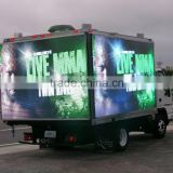 full color double sides mobile outdoor advertising led truck screen for roadshow