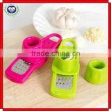 Brand New multi-functional garlic Presses Garlic Ginger Grinding Grater Crusher Peeler Slicer Cutter Squeezer Kitchen Tool