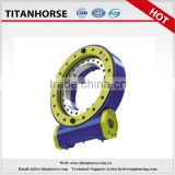Titanhorse 7 inch single axis slewing drive with 220v worm gear motor slewing drive for solar tracking system