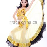 Gorgeous Indian style kids belly dance performance costume for little girls (ET011-1)                                                                         Quality Choice