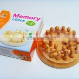 Wooden Memory game/chess for kids