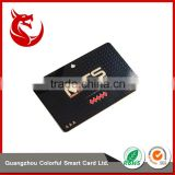 Custom electroplate metal stainless steel gold plating card