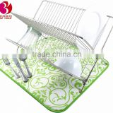 Homesolution kitchen accessories plate mat china factory microfiber dish drying mat wholesale