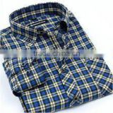 wholesale plaid flannel shirt,top brand man flannel shirts single collar high quality round bottom mens casual shirt