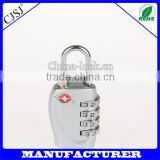 High quality tsa lock welcome customer logo design TSA luggage lock with double blister card