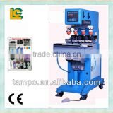 4 color Sealed ink Cup pad Printing machine with shuttle for golf balls                                                                                                         Supplier's Choice