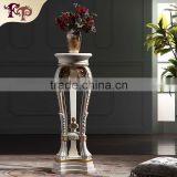 Antique hand carved vase stand furniture-italian luxury furniture-French country furniture vase stand