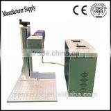 100*100mm fiber laser marking machine with Ezcad software handheld plastic glass cup steel silver pendant ring