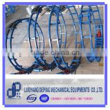 Pipeline used round tube clamp