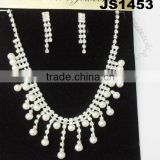 cheap pakistani pearl necklace and earring set