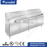 Commercial Restaurant Refrigeration Equipment Luxurious Pizza Table