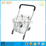 ISO Guangzhou hand shopping trolley, folding shopping trolley cart, shopping trolley cart cover