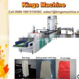 PP Non-woven Bag Making Machine /Non-Woven Bag Making Machine /Nonwoven Fabric Bag Making Machine(Kings brand)