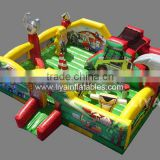 inflatable amusement park,backyard inflatable bouncer for children,kids inflatable playground